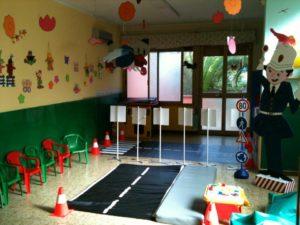 Aula polifunzionale nell'asilo nido scuola per l'infanzia La Nuvola di Quartu Sant'Elena