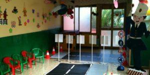 Progetto vivere l'educazione stradale con la Polizia Municipale - Asilo nido scuola per l'infanzia La Nuvola Quartu Sant'Elena